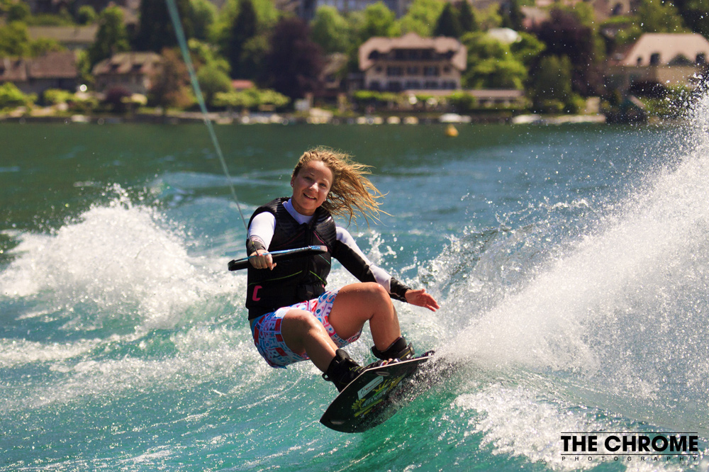 Photos wakeboard lac d'Annecy