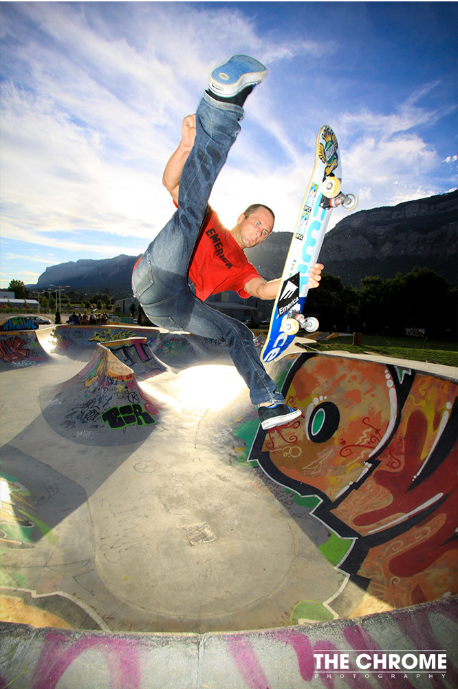Photographie Sport Skateboard Annecy