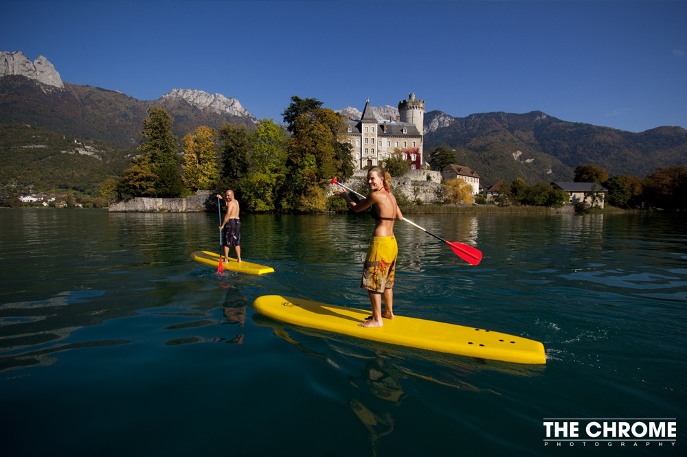 Stand Up Paddle Lac d'Annecy